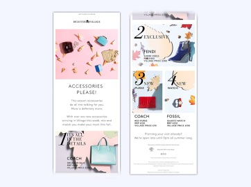 Value Retail - Email - Accessories